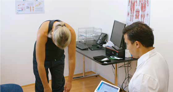 We can now Measure Precisely your Spinal Flexibility!!
